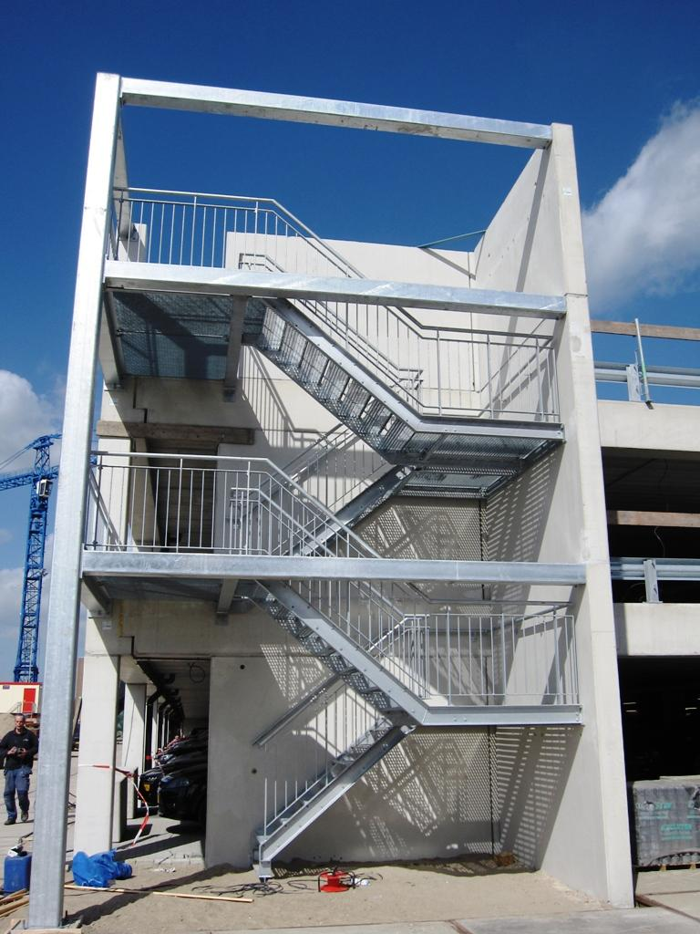 trappen voor nieuwbouw